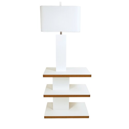Couture, Inc. Graphic Appeal 1 Light Brea Floor Lamp