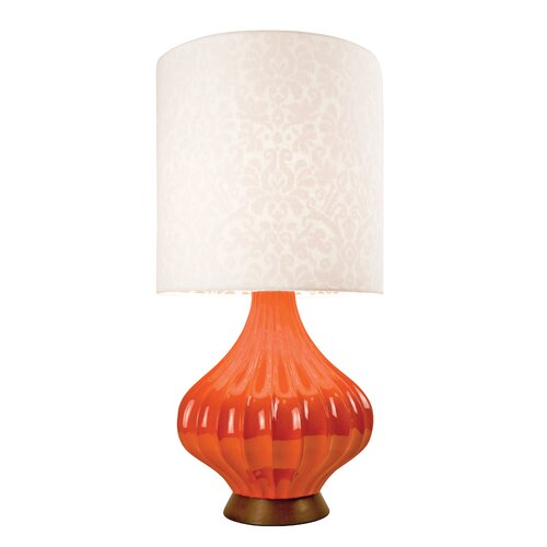 "Couture, Inc. Graphic Appeal Fairfax 31.5"" H Table Lamp Drum Shade"