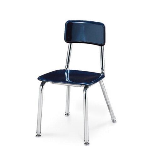 """Virco 3300 Series 14"""" Chrome Classroom Glides Chair"""