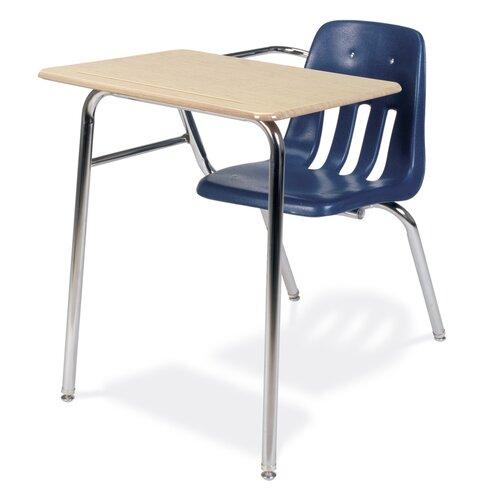 "Virco 9000 Series 30"" Plastic Combo Chair Desk"