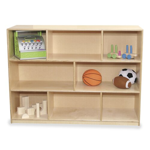 Virco Early Childhood 8 Compartment Mobile Storage Unit