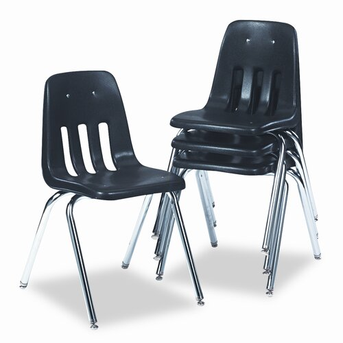 Virco 9000 Series Classroom Chair, 4/Carton