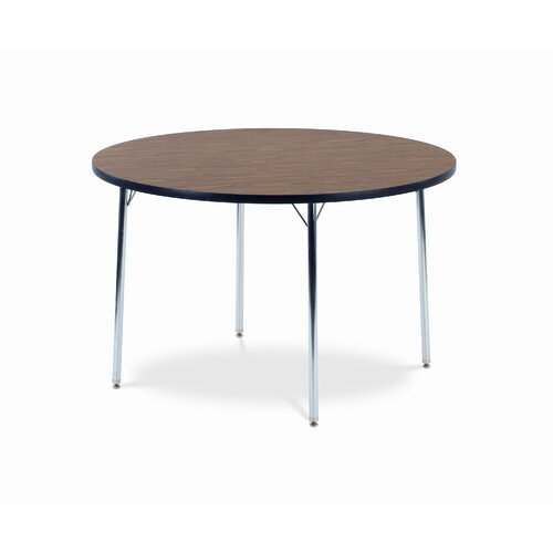 "Virco 4000 Series Activity Table with 48"" Round Top"