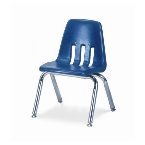 "Virco 9000 Series 12"" Polyethylene Classroom Glides Chair"