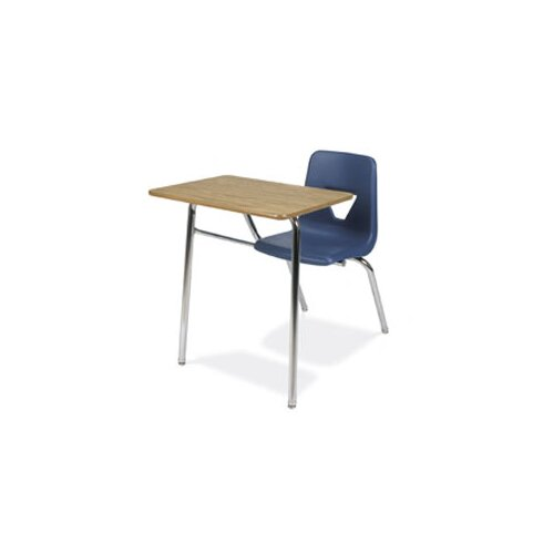 "Virco 2000 Series 31"" Laminate Particleboard Combo Chair Desk"
