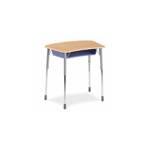 Virco Zuma Plastic Bow Front Student Desk