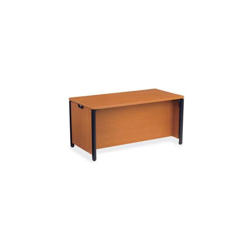 "Virco Plateau 60"" W Executive Desk"