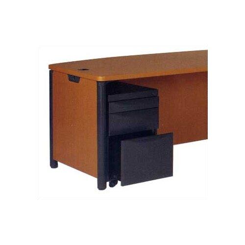 Virco Plateau Series 3-Drawer Mobile Pedestal Unit