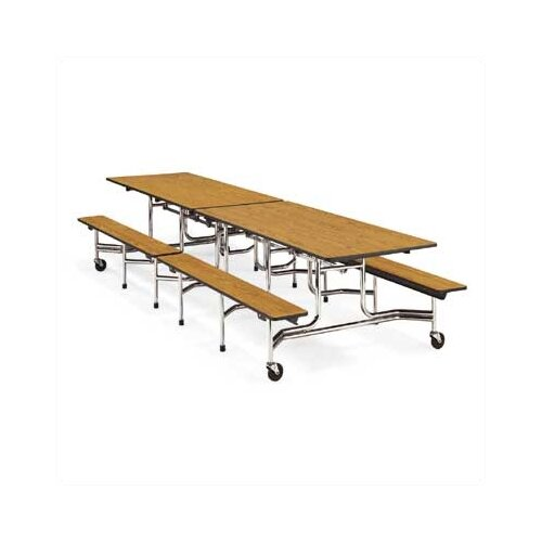 "Virco Bench Table with Sure Finish Edge (15""H x 8""L)"