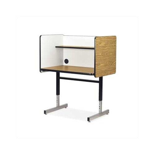 Virco 8700 Series Wood and Steel Study Carrel