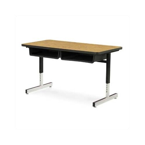 Virco Laminate Double Open Front Student Desk