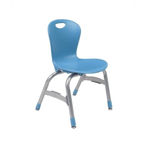 "Virco Zuma 13"" Plastic Classroom Glides Chair"