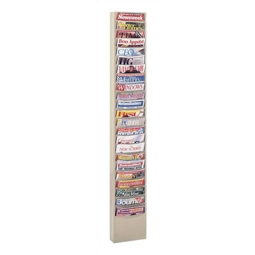 Virco 23 Pocket Library Rack