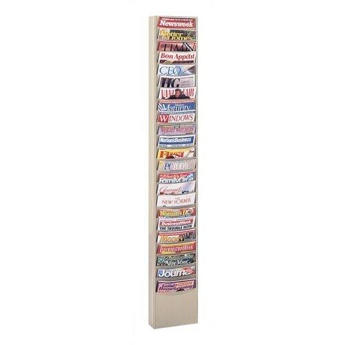 Virco 23 Pocket Library Rack