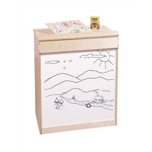 Virco Big Book Display and Storage, With Drawing Board