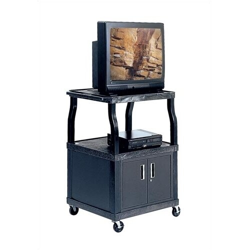 Virco Wide-Body Cart with Cabinet