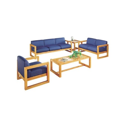 Virco Love Seat with Sled Base