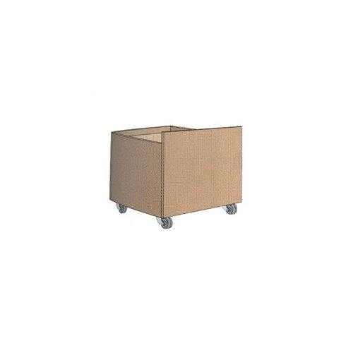 "Virco Depressible Book Drop Truck (29"" x 26"")"