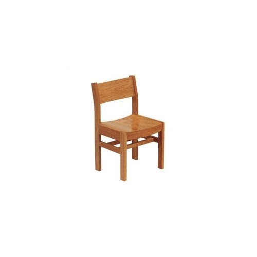 "Virco 18"" Wood Classroom Library Chair"