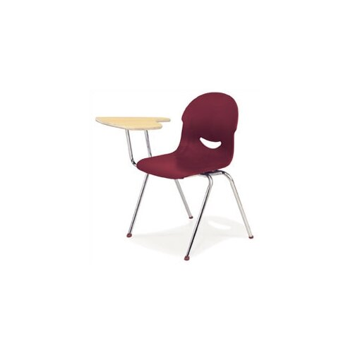 """Virco I.Q. Series 28"""" Laminate Combo Chair Desk with Tablet Arm"""