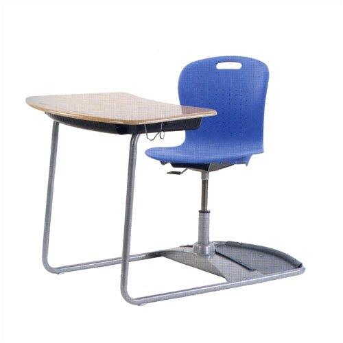 "Virco Sage Series Ergo Combo 37.5"" Plastic Student Desk"