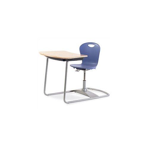 Virco Zuma Series Ergo Combo Plastic Student Desk