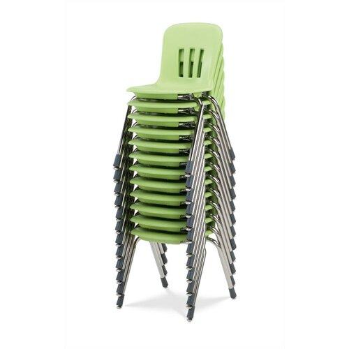 "Virco Metaphor Series 14.5"" Polypropylene Classroom Stack Chair"