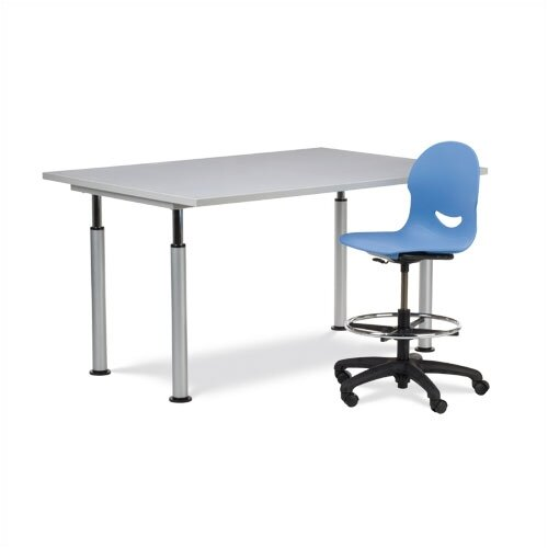 Virco Adjustable Art Table