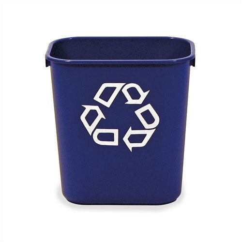 Virco 41.25 Qt. Recycling Waste Basket
