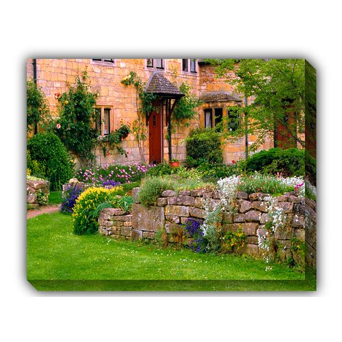 West of the Wind Outdoor Canvas Art Cotswold Stone Photographic Print on Canvas