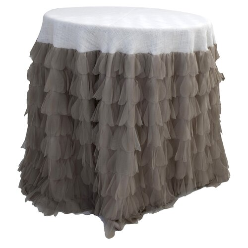 Couture Dreams Chichi Petal and Jute Tablecloth