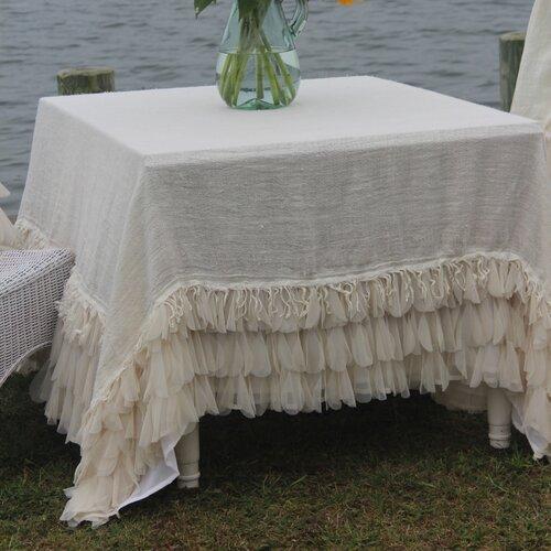 Chichi Square Linen Tablecloth