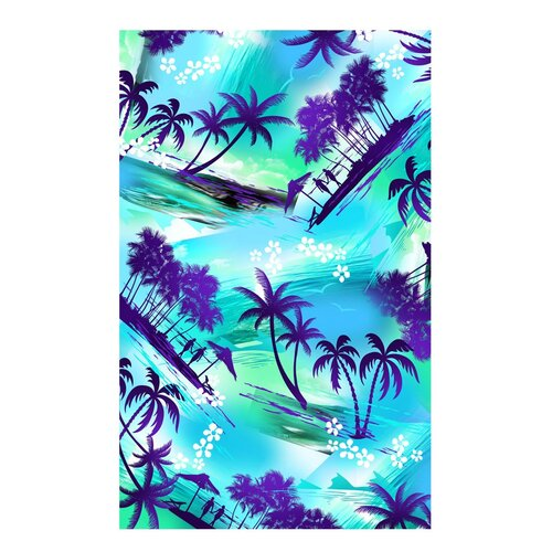 Kaufman Sales Tropical Island Beach Towel
