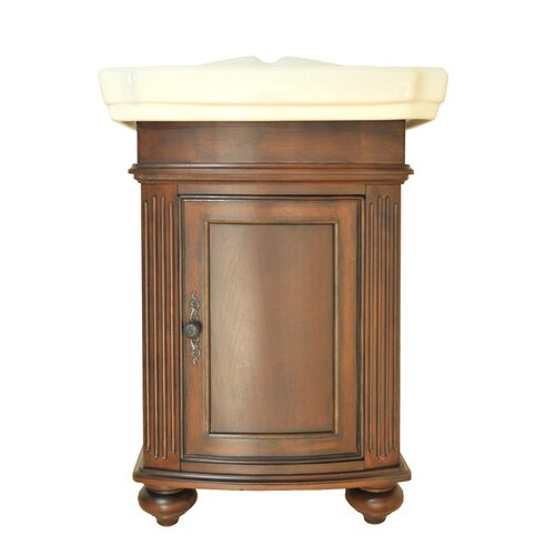 "Westport Bay EuroClassique 19"" Traditional Square VanEstal TM Cabinet Vanity Set"