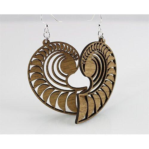 Green Tree Jewelry Conch Shell Earrings