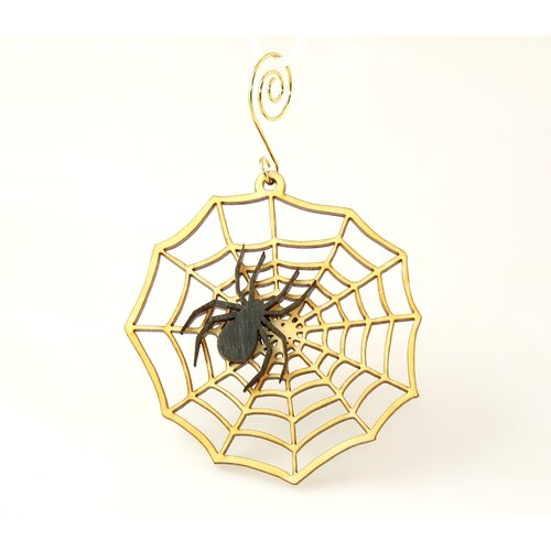 Green Tree Jewelry Spiderweb Ornament