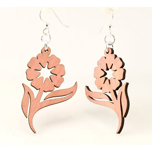 Green Tree Jewelry Spring Flowers Earrings