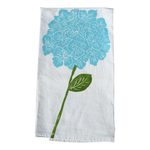 Lowcountry Linens Hydrangea Kitchen Towel