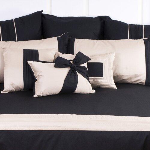 Tux Black Bow Cushion