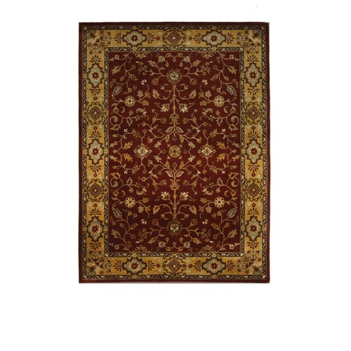 Tempest Rust/Light Gold Rug