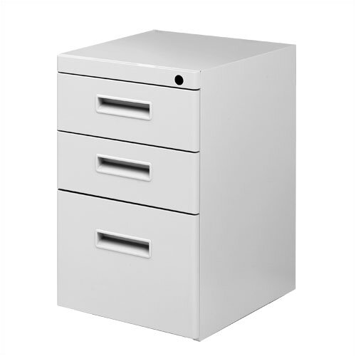 Great Openings 3-Drawer Freestanding Pedestal
