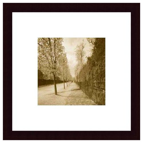 'French Jardin' by Wampler Framed Photographic Print