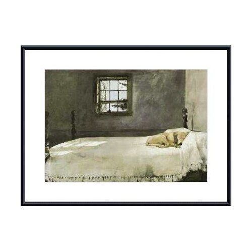 Barewalls Master Bedroom by Andrew Wyeth Framed Painting Print