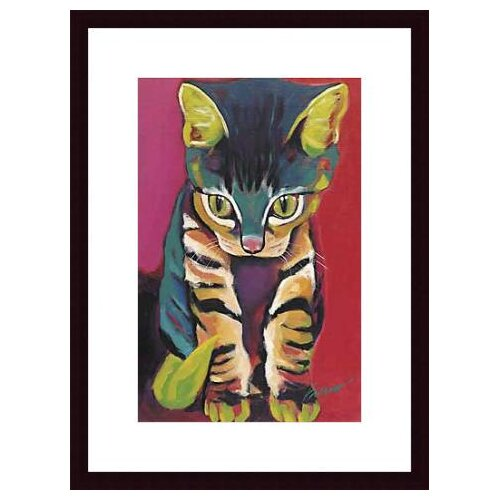 Barewalls 'Squirt' by Ron Burns Framed Painting Print