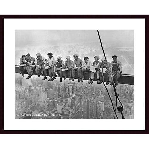 Printfinders Rockefeller Center, 1932 Framed Photographic Print