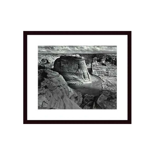 Barewalls Canyon de Chelly National Monument by Ansel Adams Framed Photographic Print