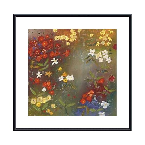 Barewalls Gardens In The Mist IV by Aleah Koury Framed Painting Print