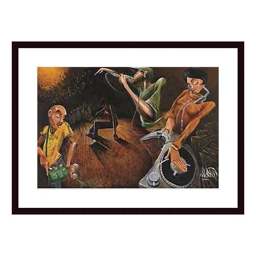 Barewalls 'The Get Down' by David Garibaldi Framed Painting Print
