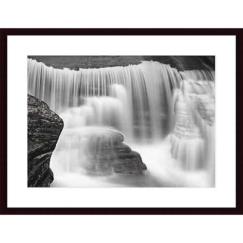 Barewalls Cascade #2 by Huntington Witherill Framed Photographic Print