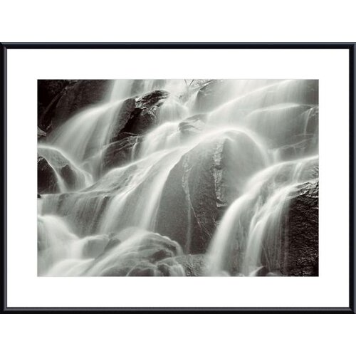 'Waterfall, Yosemite' by Huntington Witherill Framed Photographic Print
